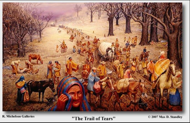 Cherokee Tribe - Trail of Tears